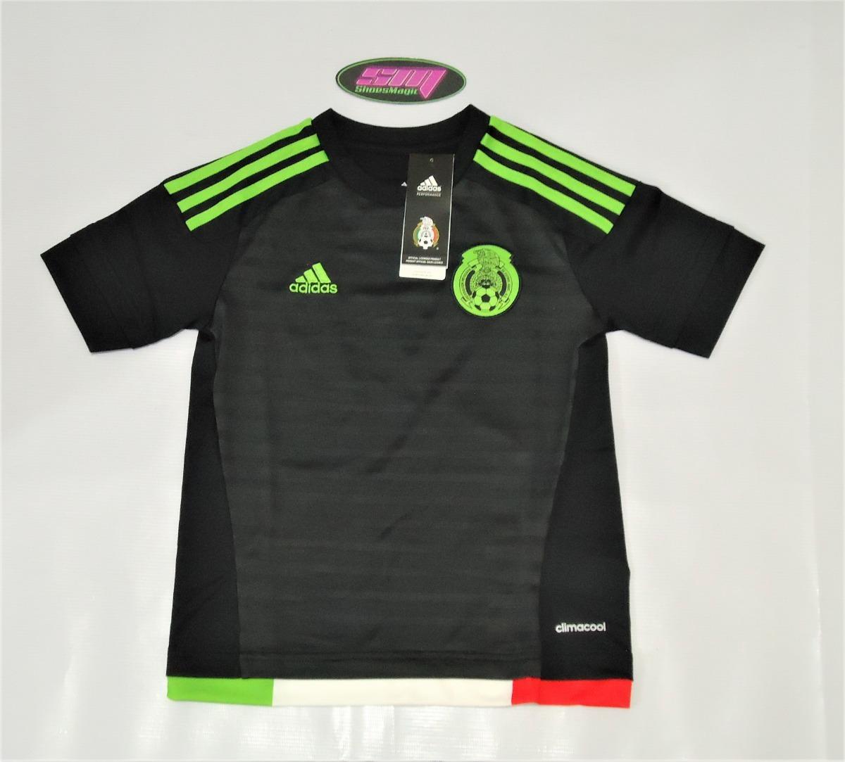 839e168f9d624 Playera adidas De Mexico Para Niño -   399.00 en Mercado Libre