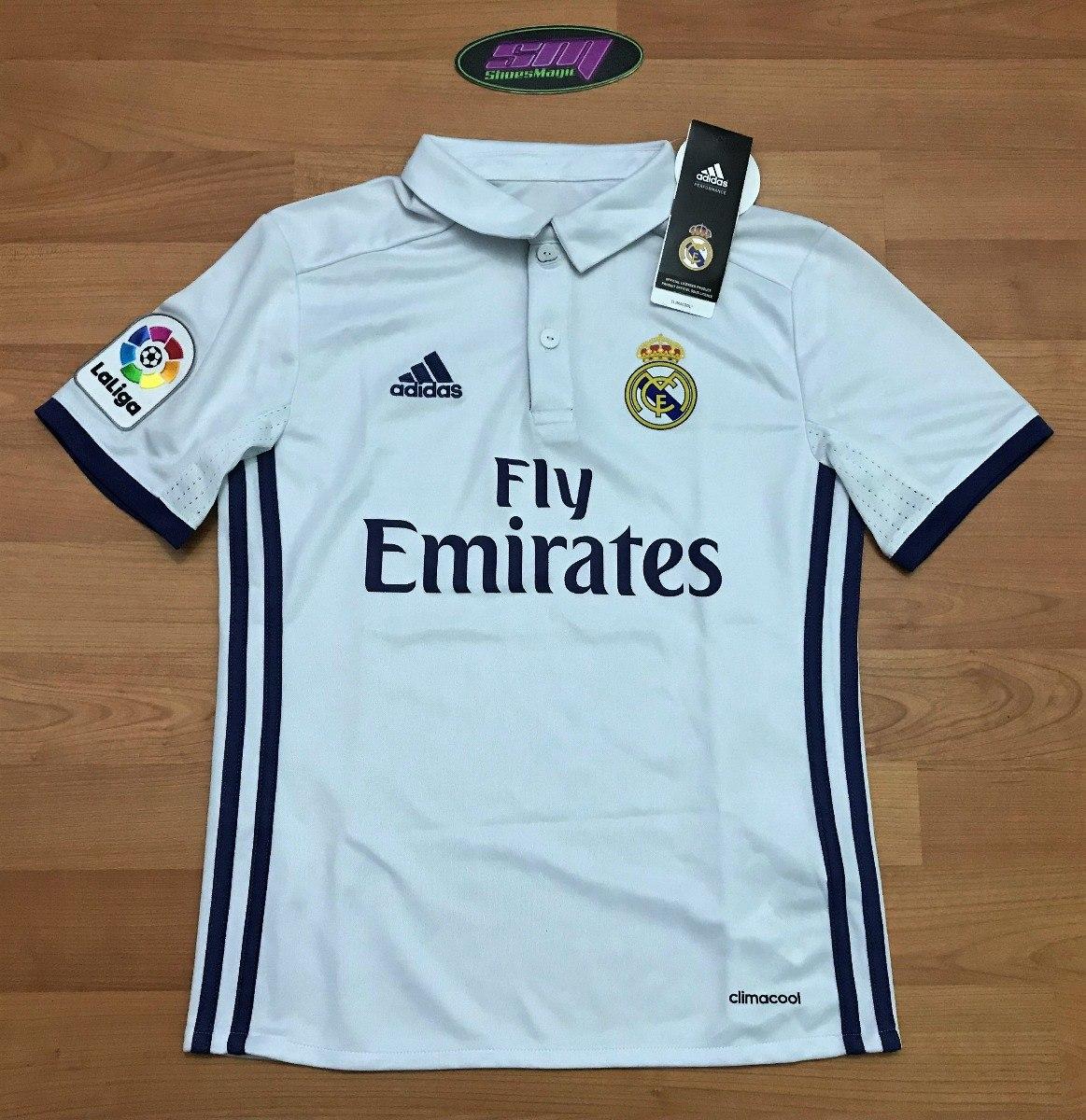 Playera adidas Del Real Madrid Para Niño -   349.00 en Mercado Libre bbef53f178386