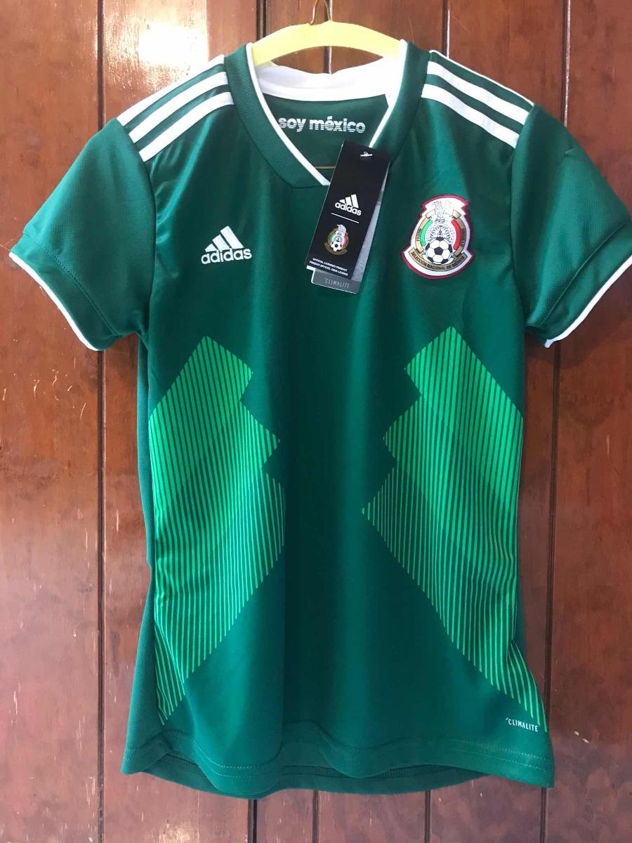 playera adidas original selección mexicana para mujer xs. Cargando zoom. 20160c42e9dd1