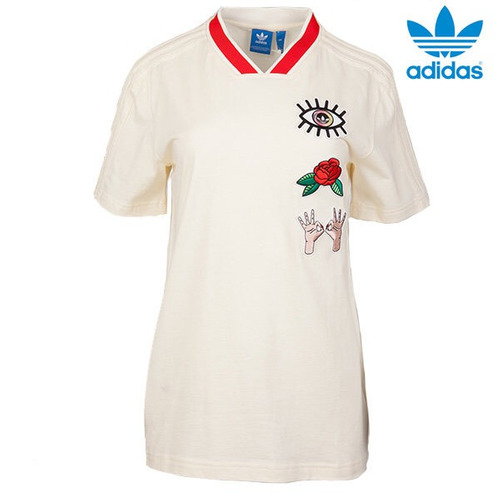 playera adidas originals dama cv9429 dancing originals