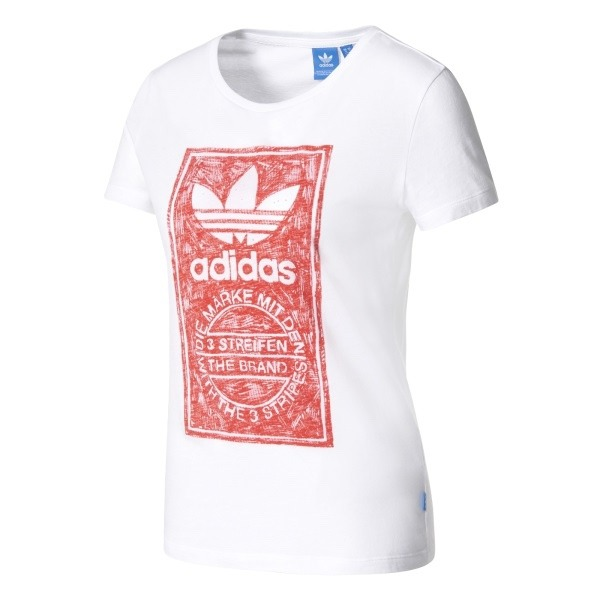 Playera adidas Originals Mujer Blanco Bk2342 Look Trendy