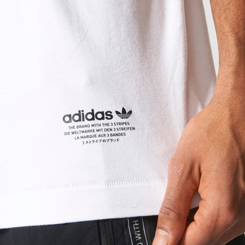 playera adidas originals nmd bs2482 dancing originals