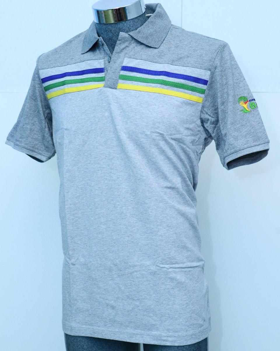c3d9226b376b1 playera adidas polo casual brasil para hombre 100% algodón. Cargando zoom.