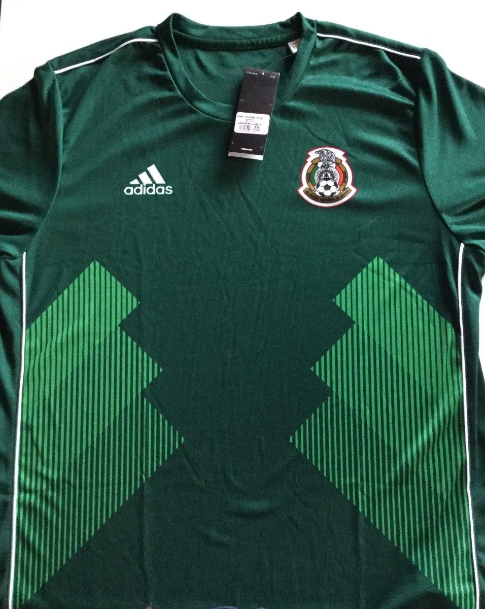 Playera adidas Selección Mexicana Talla Grande -   500.00 en Mercado ... 53e43176b907c