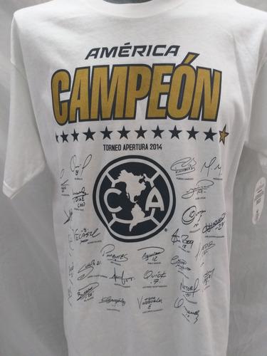 playera américa campeón 2014