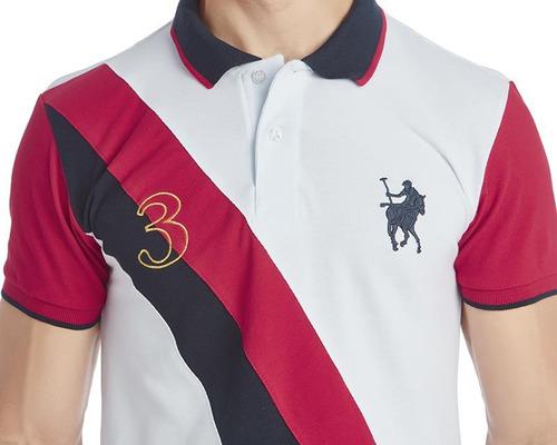 playera american polo blanca pr-1575522