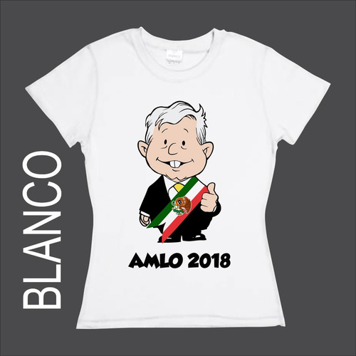 playera amlo 2018 no la tiene ni obama!!! varios colores
