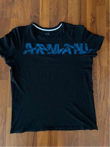 playera armani exchange para hombre