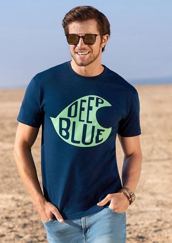 playera azul marino gris 1431056    ferrato