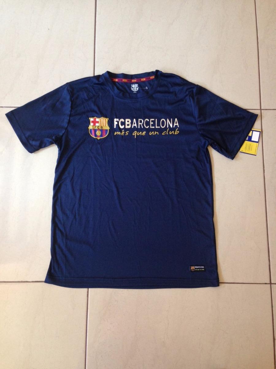 brillo de color venta más caliente moderno y elegante en moda Playera Barcelona Barca Original