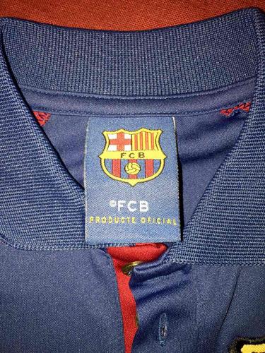 playera barcelona y manchester  niño 5 a 6 años , v # 90