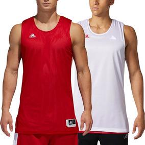 0173ef1719 Playera Basquetbol Reversible Exp Hombre adidas Full Cd8687