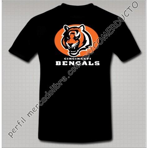 Playera Bengals Playera Cincinnati Bengals Tigre Dwat