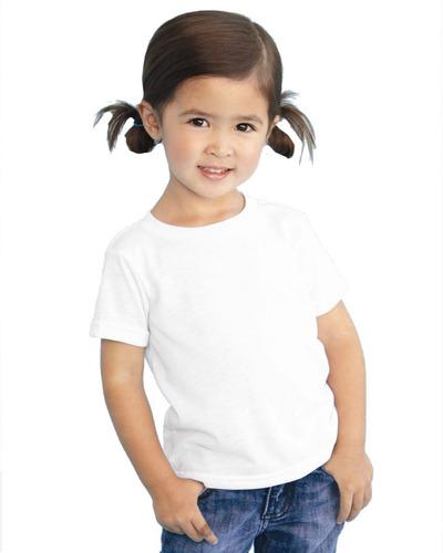 playera blanca para sublimar niño dry fit