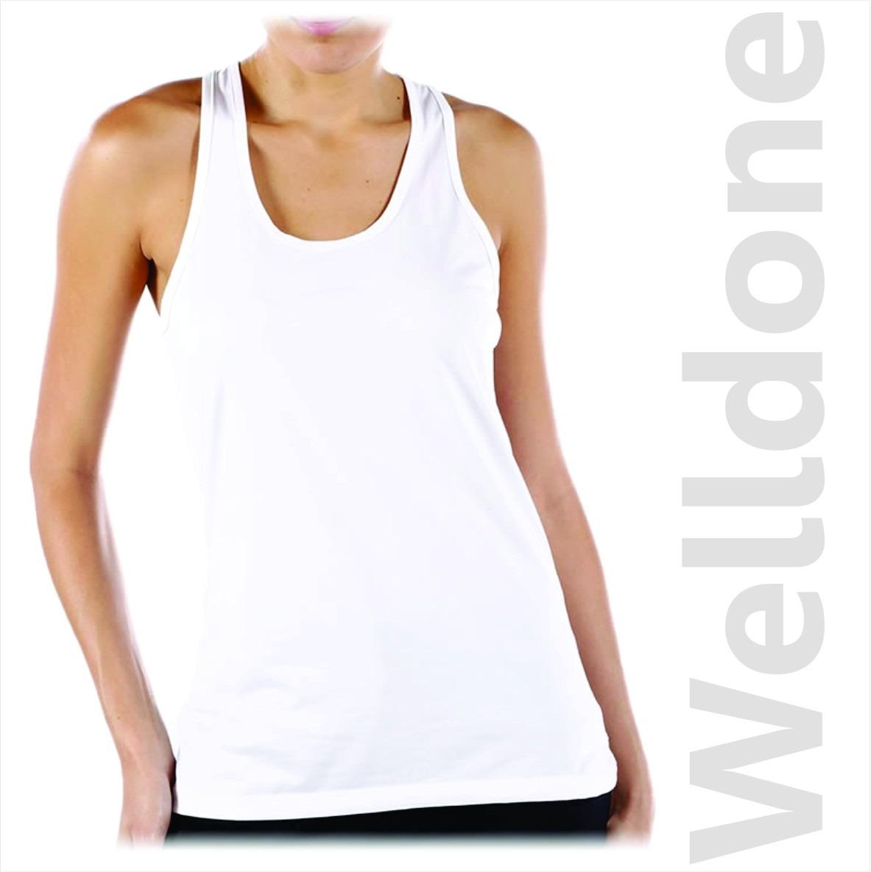 playera blusa corte dama cuello red sublimable tank top 15pz. Cargando zoom. bf70612d29c45