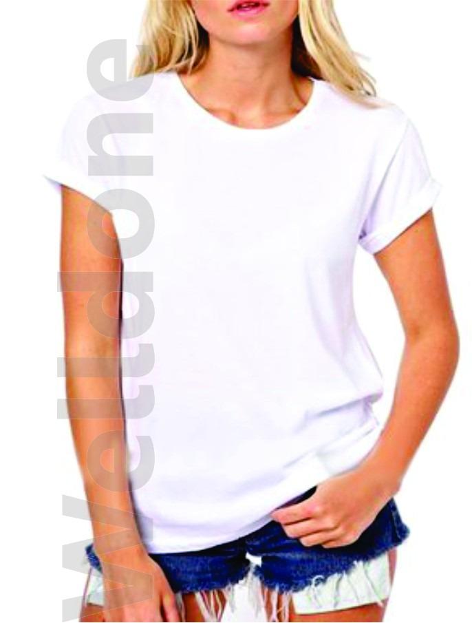 playera blusa dama cuello redondo sublimable tactoalgodon. Cargando zoom. 26fcdb4dd8cb5