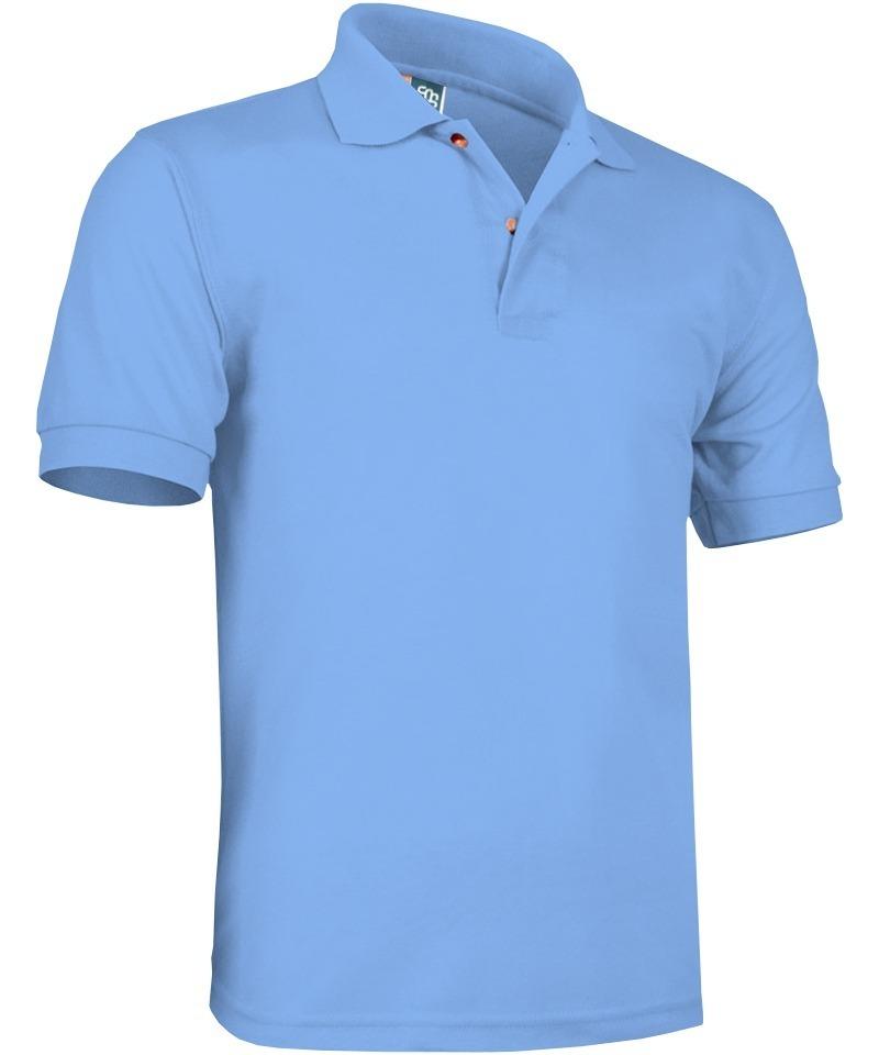 playera brans tipo polo uniforme publicidad azul cielo s-xl. Cargando zoom. 721b9e2fe5f89