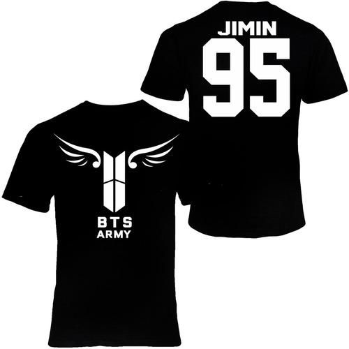 playera bts army nuevo logo alas kpop