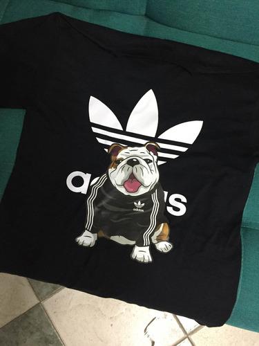 playera bulldog tipo adidas envió gratis!