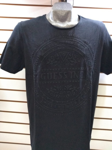 playera caballero guess c/r original sello gde