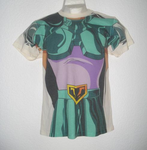 playera caballeros del zodiaco armadura fénix negro anime