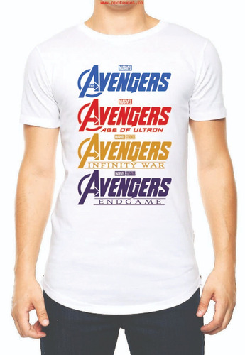 playera camiseta avengers engame marvel