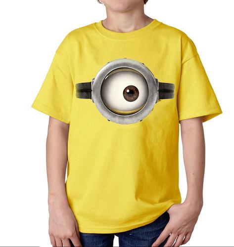 playera camiseta minion ojo mi villano favorito 1 o 2