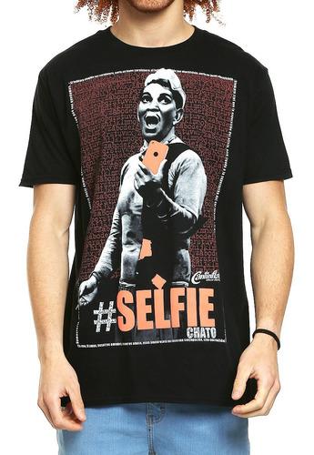 playera cantinflas selfie
