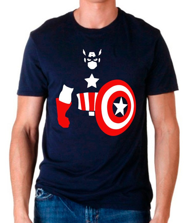 Playera Capitan America Marvel Comic Muchos Mayoreo Catalogo ... 4e50200f4b372