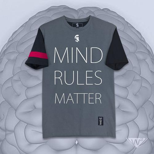 playera carbón w2 mod. la mente domina la materia