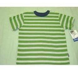 playera carter´s verde/rayas talla 5