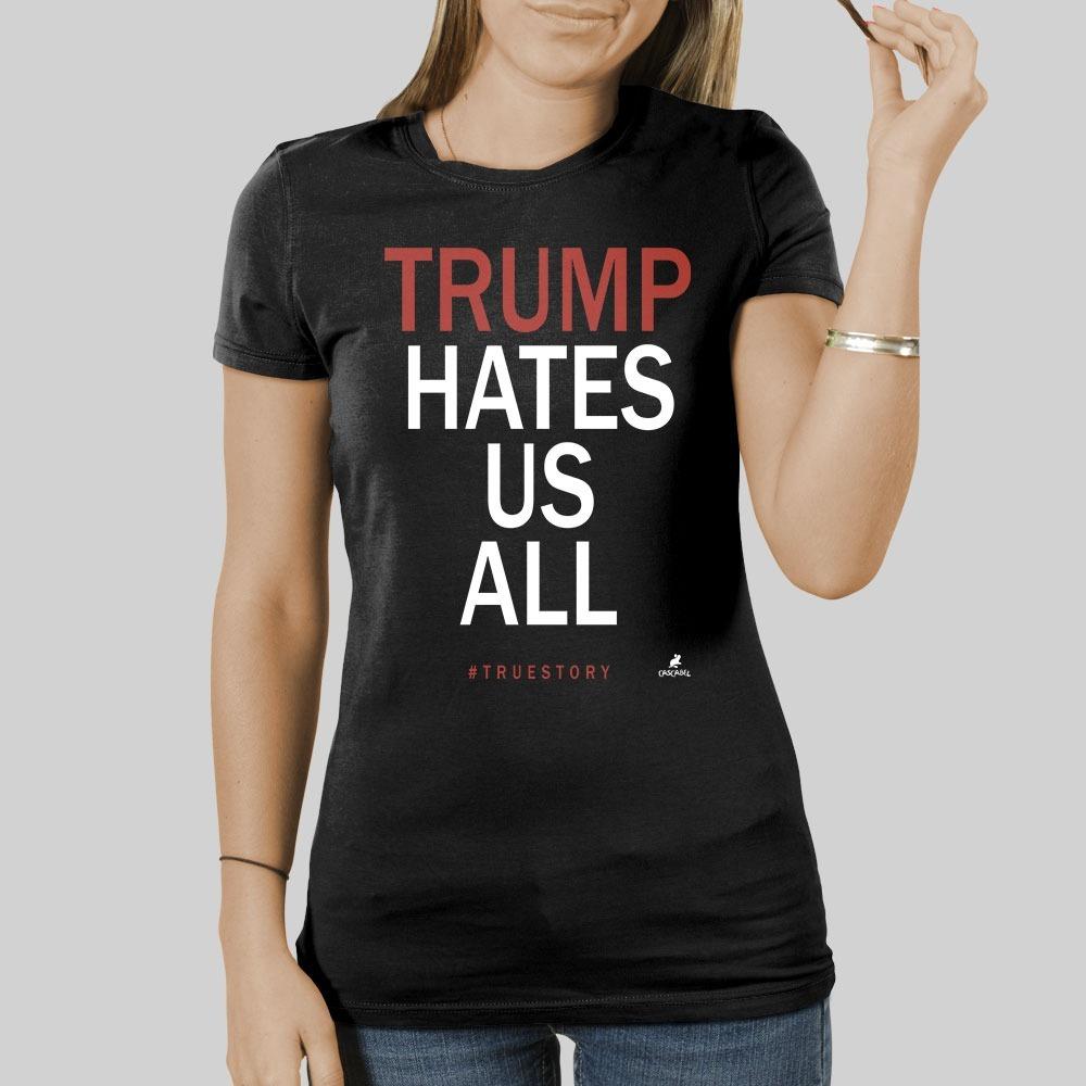 Playera Cascabel - Trump - Diseño 100% Original -   349.00 en ... 006a62ccf949b