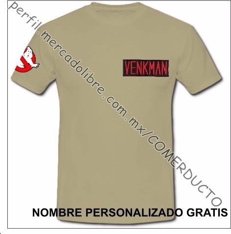 Playera Cazafantasmas Playera Ghostbusters Uniforme Who Ofwz ... f234b9029109e