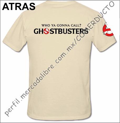 playera cazafantasmas playera ghostbusters uniforme who qqcd