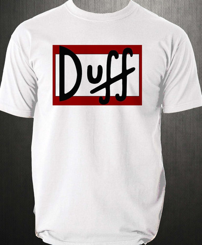 playera  cerveza duff beer simpsons