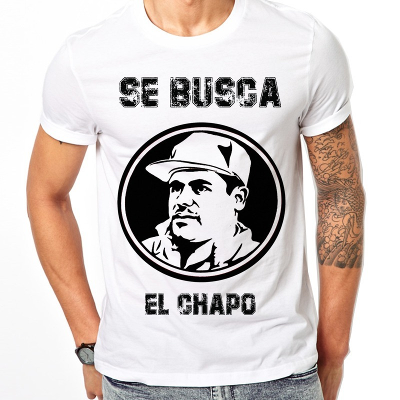 b90173513d52b Playera Chapo Guzman Colleccion Economica -   99.00 en Mercado Libre