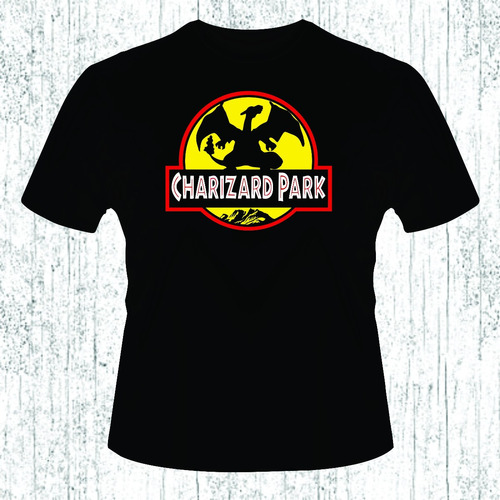 playera charizard park
