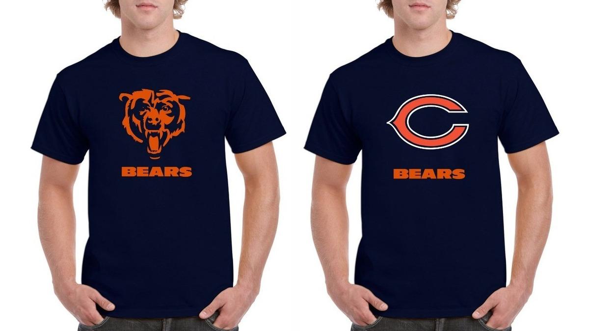 official photos 947ed 7d96c Playera Chicago Bears Nfl Tallas 2xl Y 3xl