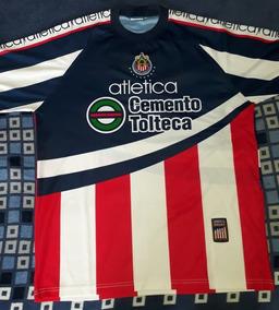 ab027a4c8 Playera Chivas Guadalajara Atletica Entrenamiento Año 2000