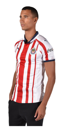 playera chivas - puma - 703881 01 - blanca hombre