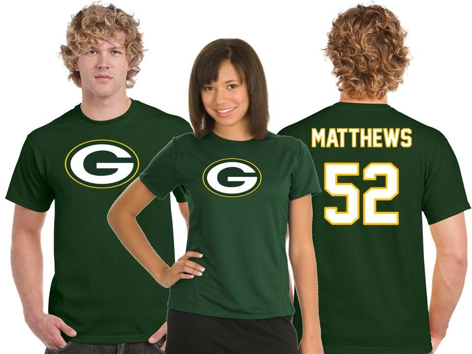 premium selection 013a6 d7141 Playera Clay Matthews Jersey Green Bay Packers Nfl
