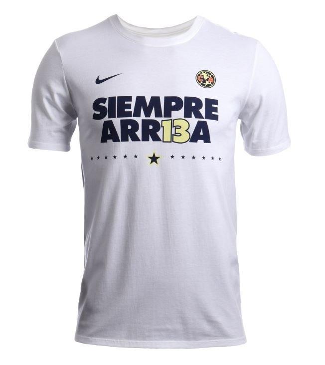 Playera Club America Siempre Arr13a Arriba Campeon Envío Gra ... bdfc051c926fd