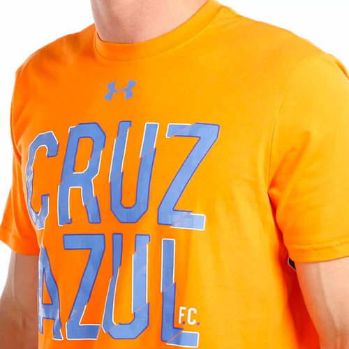 playera club deportivo cruz azul hombre under armour ua611