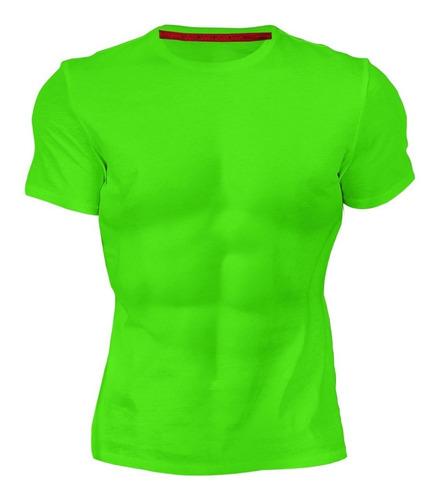 playera colores deportiva para dama y caballero dry fit
