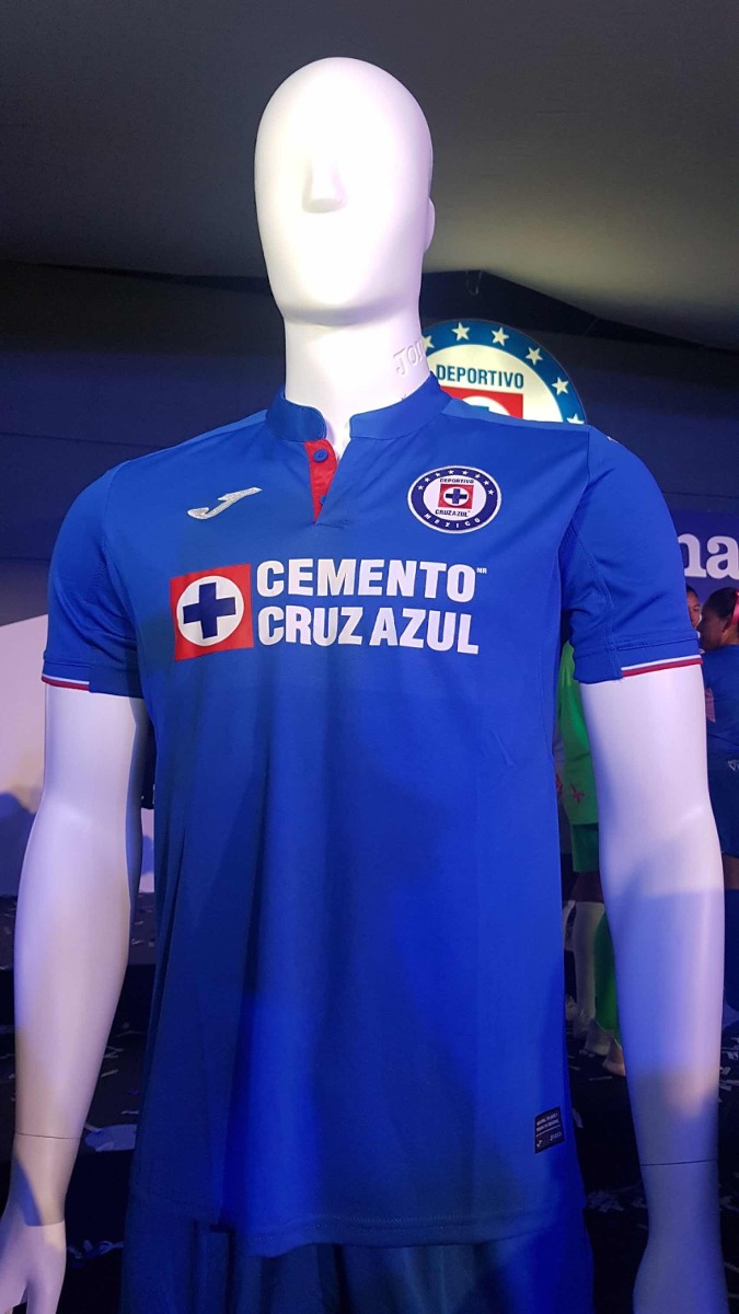 7eeab9b1ec9 Playera Cruz Azul Jersey 2019 Local Joma -   1
