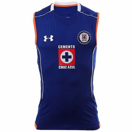 playera cruz azul sleeveless hombre under armour ua1504