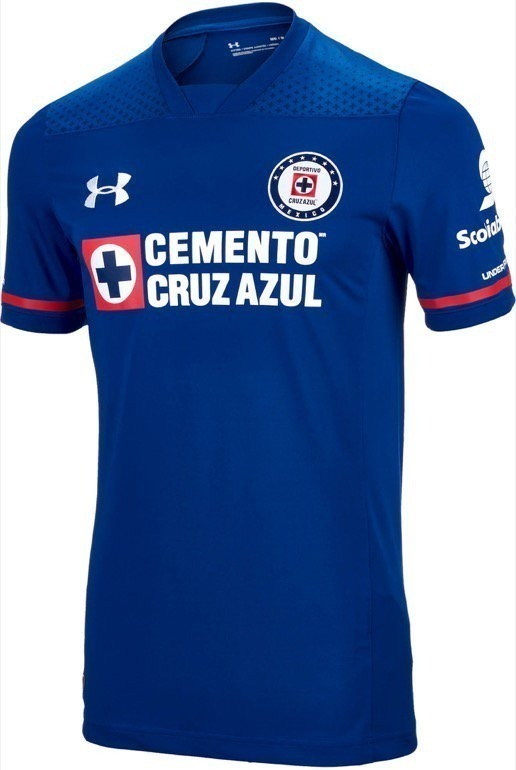 5882fbcc4320c Playera Cruz Azul Under Armour Original -   799.00 en Mercado Libre