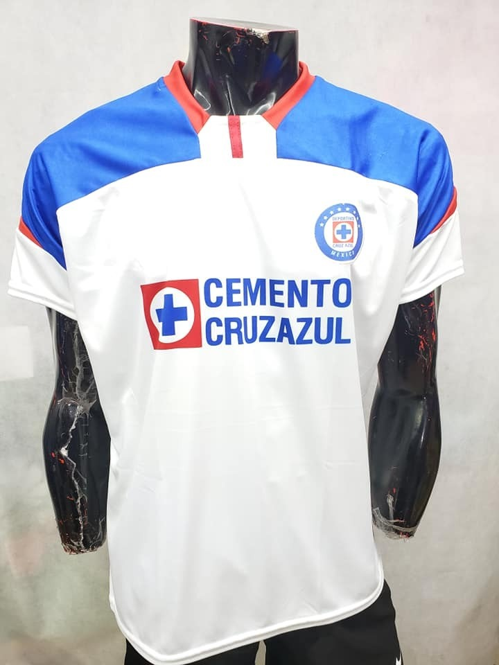 9c702054c Playera Cruz Azul Visita Blanca Hombre -   228.00 en Mercado Libre