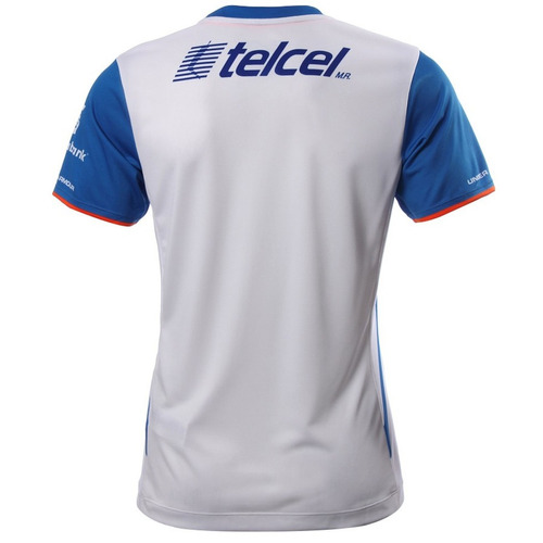 playera cruz azul visitante 15/16 mujer under armour ua528