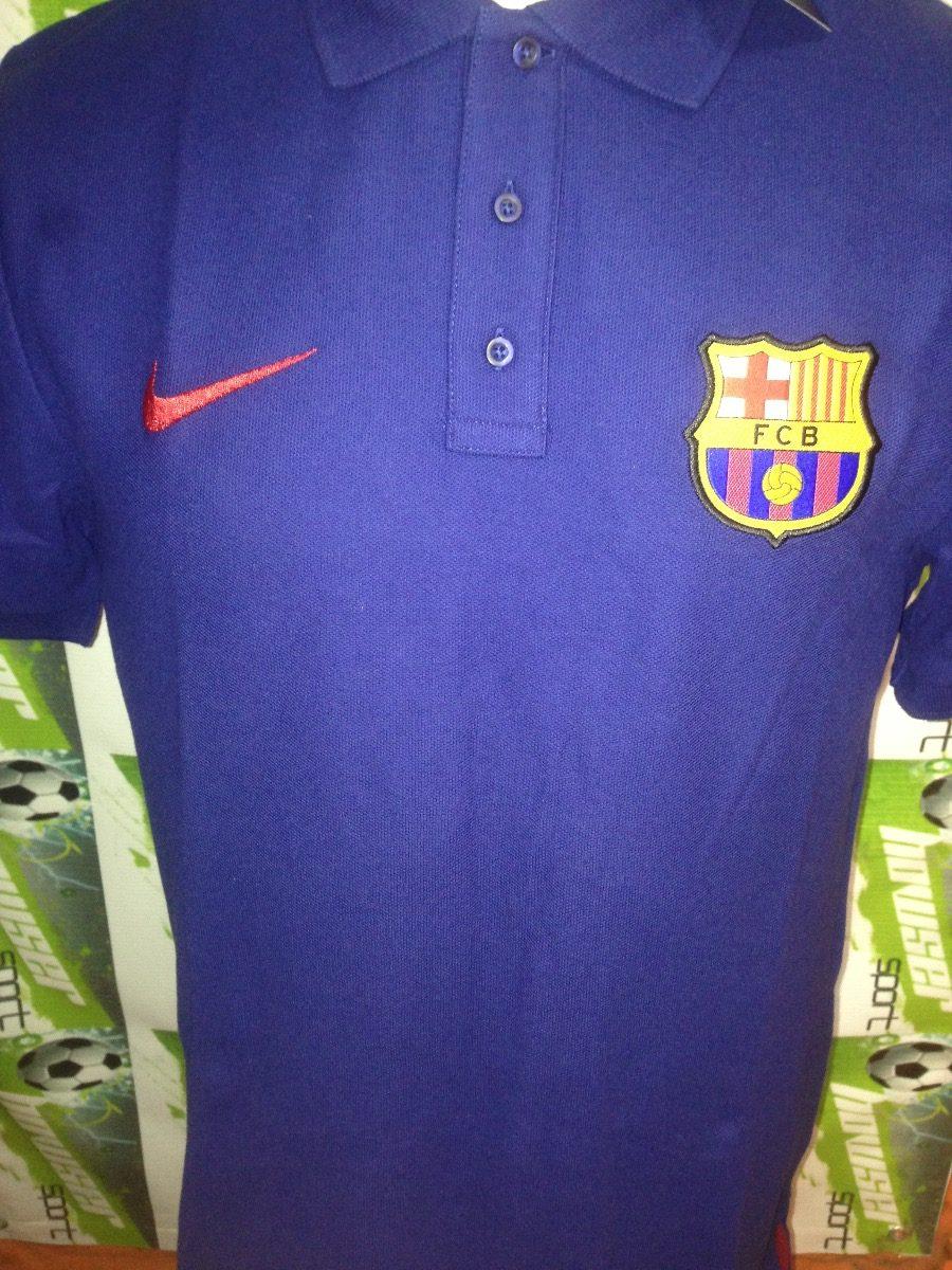 e1bf1a8560981 Playera Cuello Polo Nike Barcelona España 100%original -   559.00 en ...